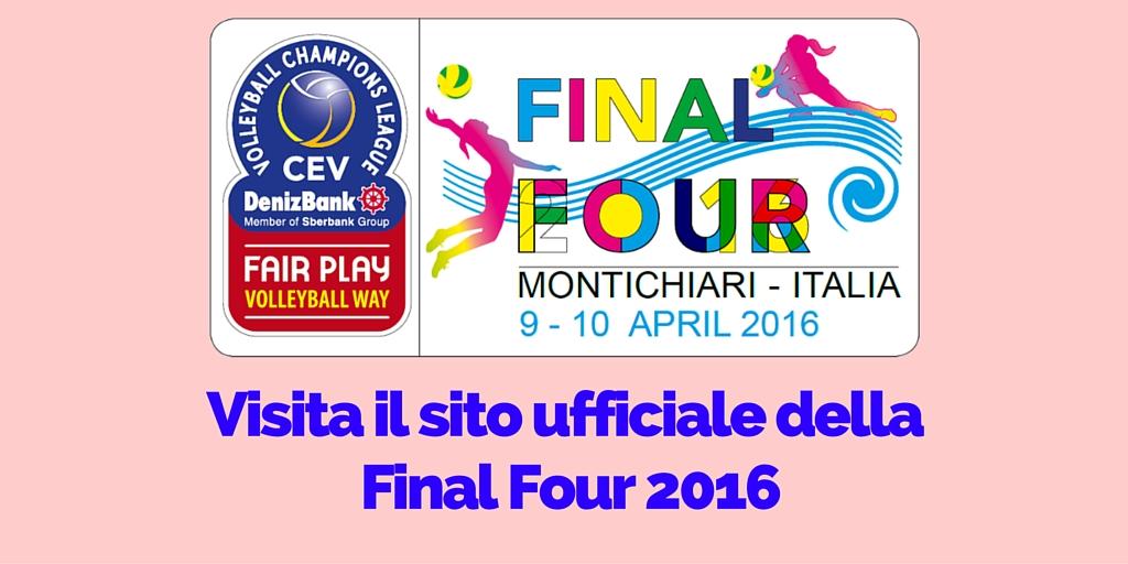 Visita il sito ufficiale della Final Four 2016