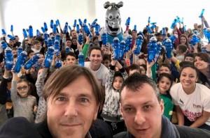 Selfie incontro scuola Primaria San Giovanni in Croce